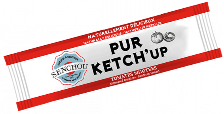 Ketchup tomate stick